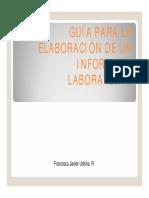 Guía Para La Elaboración de Un Informe (Usach)