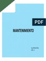 Presentation Mantenimiento Preliminar1