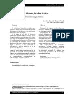 SOSTENIBILIDAD Y LA VIVIENDA SOCIAL EN MEXICO.pdf