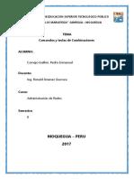 Comandos Sistema Operativo y Combinación de Teclas en Redes