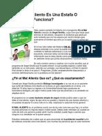 Fin Al Mal Aliento Angel Sevilla PDF