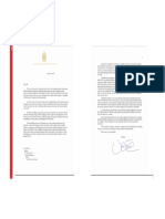 Trudeau Letter to Bezos