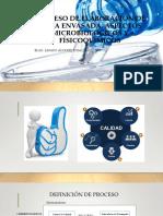 Proceso Elaboracion Agua Envasada. Micro y FQ