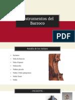 Organología Barroco