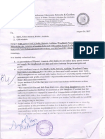 Complaint against promoter of cow slaughtering