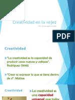 Creatividad en La Vejez