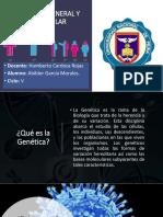 Abilder Garcia Morales - Génetica