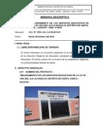 Memoria Descriptiva La Huaca