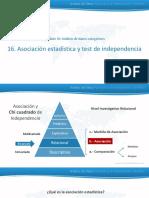 16. Asociacion Estadistica y Tes de Independencia