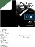 Psicologia Del Mexicano en El Trabajo 1