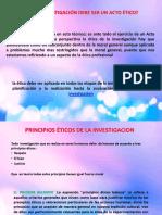 Principios Éticos de La Investigacion Grupo 2