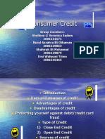 Consumer Credit Present