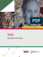 Catálogo - Evita, De Graciela Henríquez