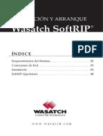 Spanish_ Instalacion y Arranque de Wasatch