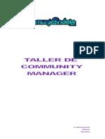 Taller Social Media Community Manager