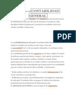 Definición Decontabilidad General
