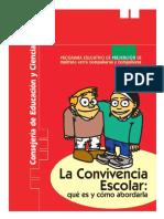 La convivencia escolar-Qué es y cómo abordarla.pdf
