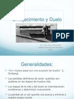 Dr. Juan Jerez Duelo en El Adulto Mayor
