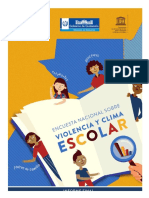 Encuesta Nal Violencia y Clima Escolar (Guatemala)