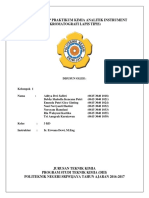Laporan Tetap Praktikum Kimia Analitik Instrument Klt