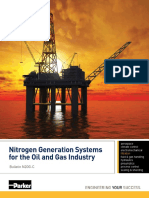 Nitrogen Generation Systems for the Oil and Gas Industry