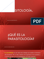 2017- CLASE. 1. Parasitologia