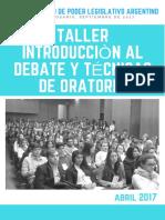 Intervencion Debate y Oratoria