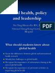 Global Health, Leadership and Policy_20170928