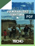TECHO presenta un mapa de la vulnerabilidad en asentamientos