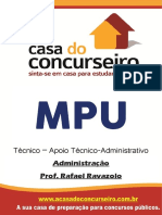 Apostila MPU Técnico - Administracao e Gestão de Pessoas
