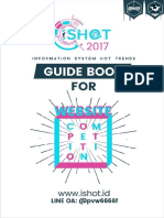 Guidebook Ishot Competition