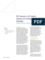 Consejo Control Empresa Familiar