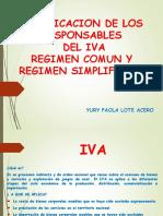 Regimen Comun y Simplificado