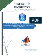 Estadística Con R y Matlab