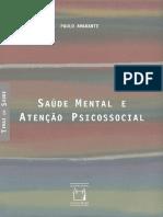 Pilar_AMARANTE - Saúde Mental e Atenção Psicossocial