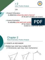 Chapter 2 - Robot Kinematics