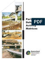 Defect Activity Matrices - QLD