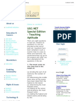 UGC-NET Special Edition - Teaching Aptitude | EnableAll