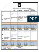 Marist Ashgrove Rugby Tour April 2018 Proposed Itinerary Overview