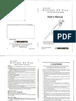 Manual Pipeta - Nichipet_EX
