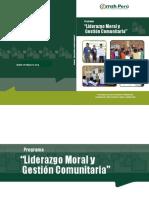 Módulos Del Programa de Liderazgo y Gestión Comunitaria