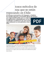 Los Exitosos Métodos de Enseñanza Que Se Están Replicando en Chile