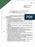 Sr DOM Letter JBP June 2017 Katni Grade Separator FLS Observations