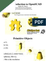 Intro to OpenSCAD 2014