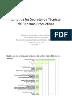 91rol Secretarios Tecnicos Cadenas