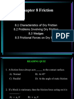 Chapter8 Friction Sections 8 1 - 8 2