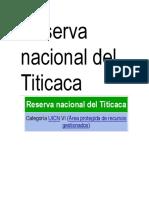 Fauna de La Reserva Nacional Del Titicaca.pptx