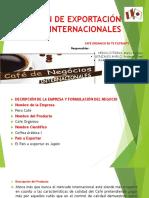 Exposición Cafe Exportación