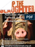 Join the March for Farmed Animals