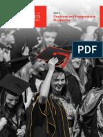 1945 Graduate and Postgraduate Study Guide 2017 FINAL WEB